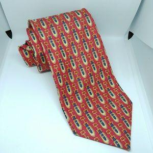 Burberry Of London Men's Neck Tie 100% Silk